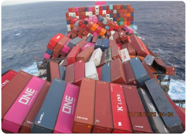 Image credit: https://gcaptain.com/estimated-1900-containers-lost-or-damaged-on-one-apus/