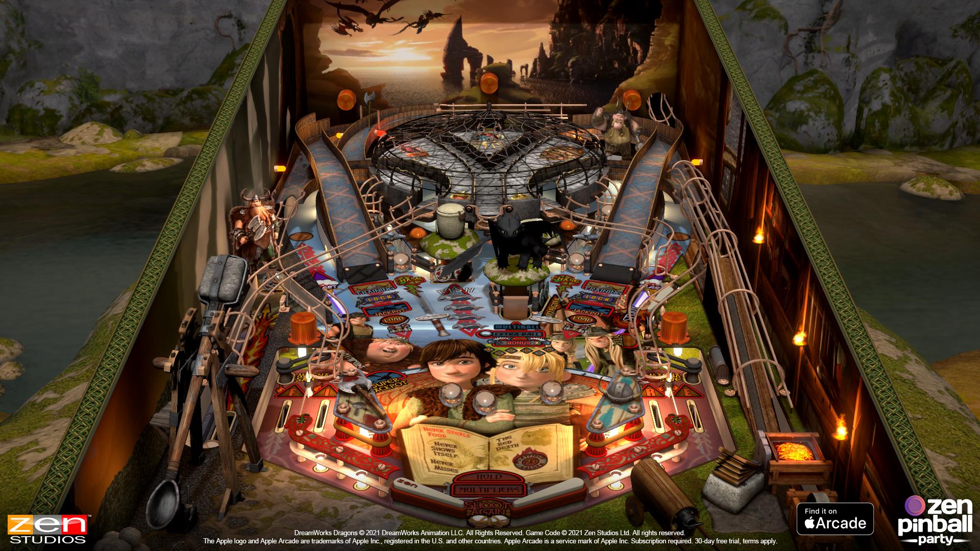 BlahCade 227: Zen brings Apple to a Pinball Party